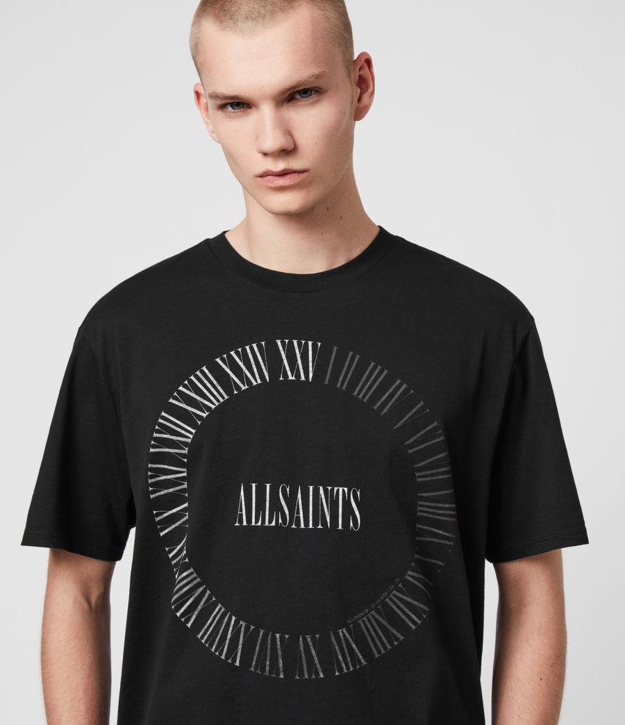 Men's Chrono Crew T-Shirt (black) - Image 2