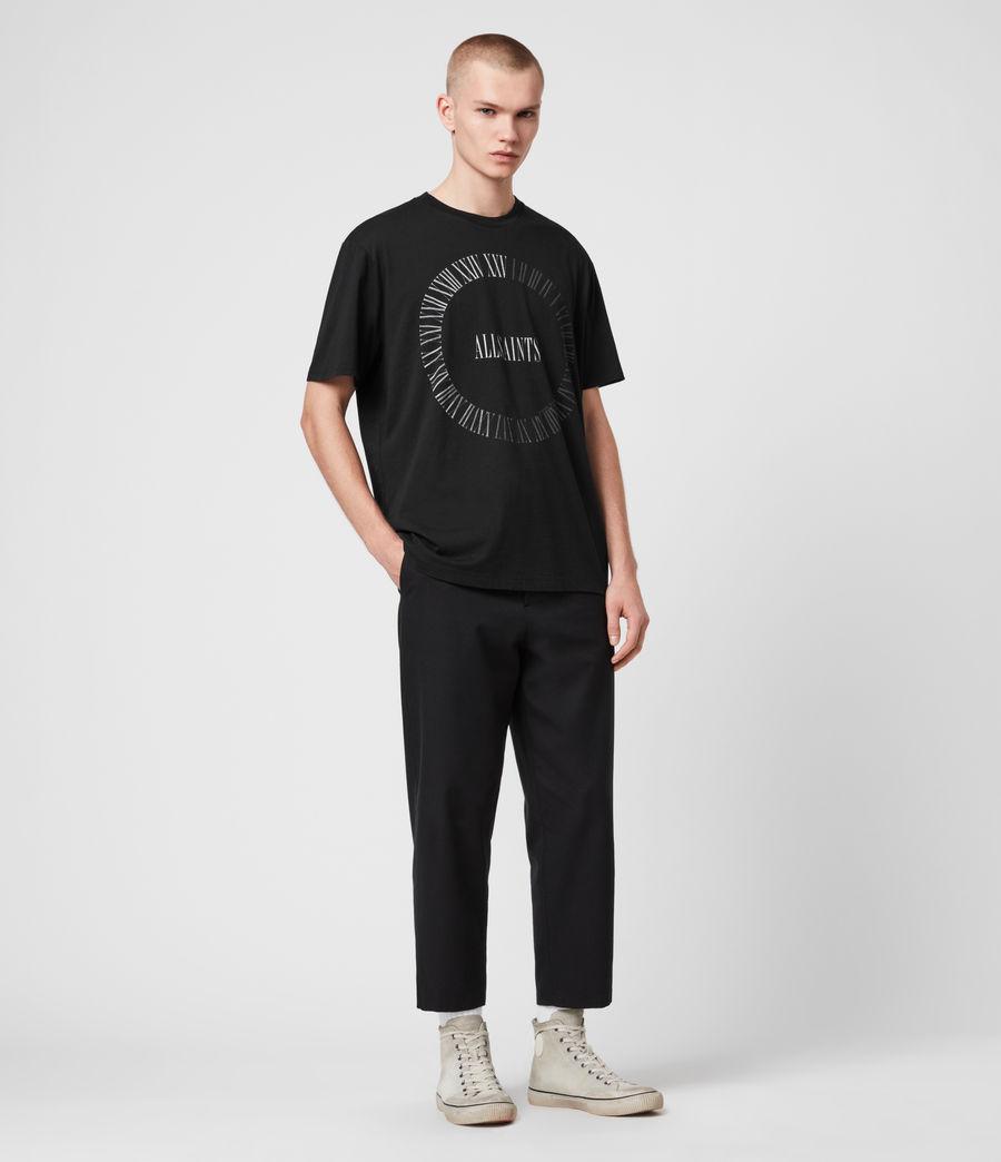 Men's Chrono Crew T-Shirt (black) - Image 3