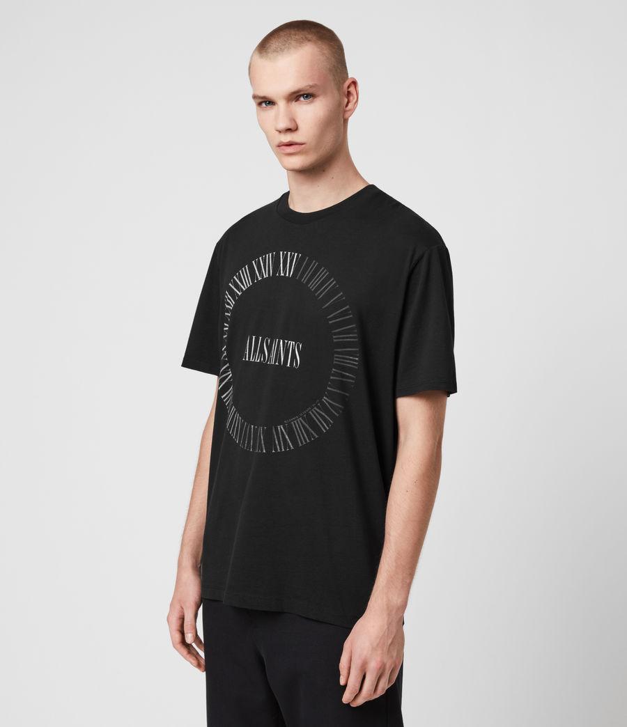 Men's Chrono Crew T-Shirt (black) - Image 4