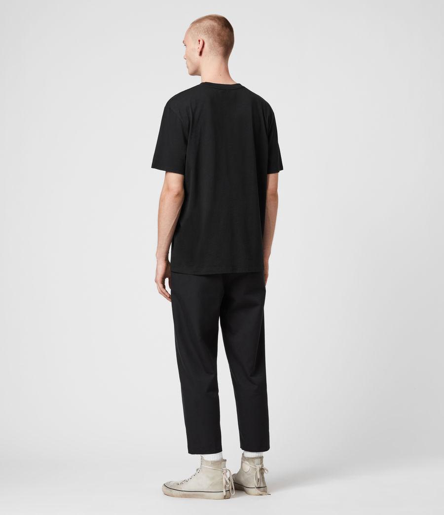 Men's Chrono Crew T-Shirt (black) - Image 5