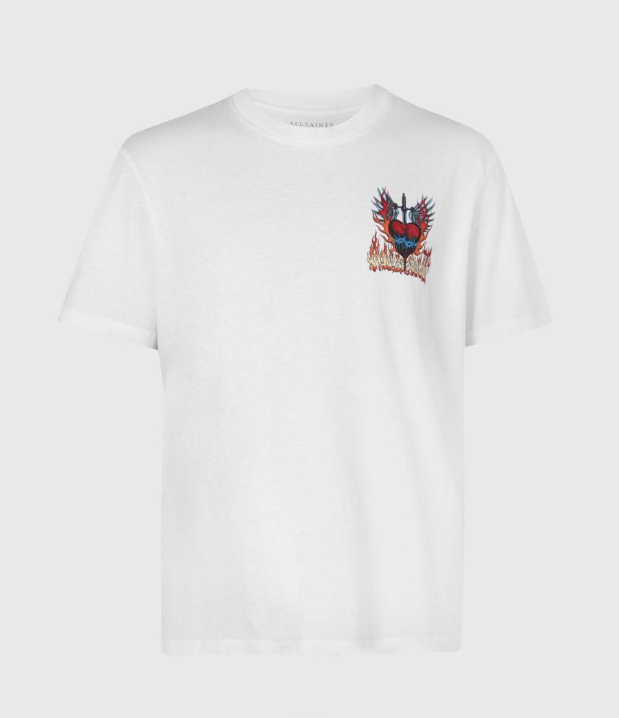 Men's Valento Crew T-Shirt (optic_white) - Image 3
