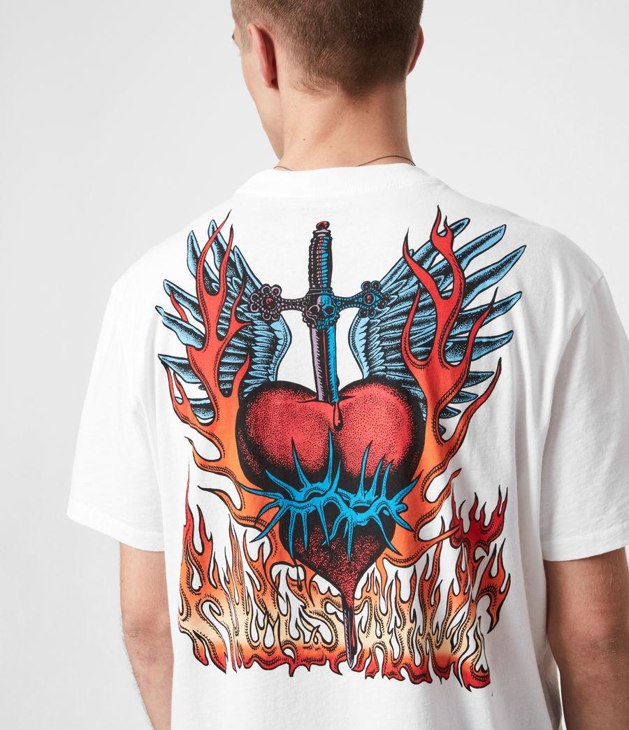 Herren Valento T-Shirt (optic_white) - Image 4