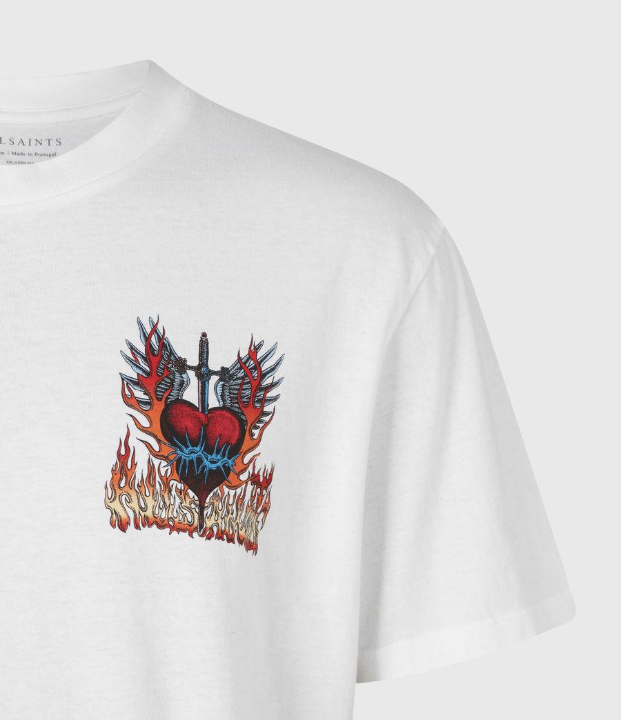 Men's Valento Crew T-Shirt (optic_white) - Image 5