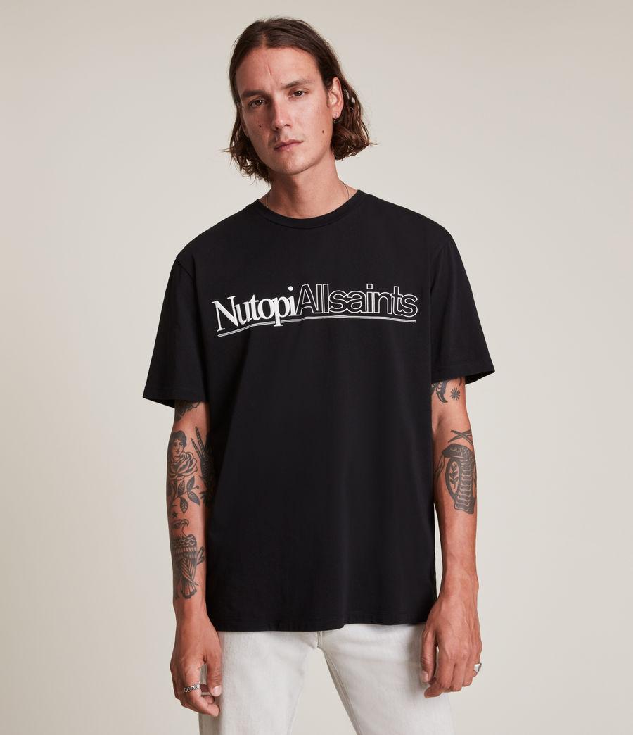 Men's Topia Crew T-Shirt (jet_black) - Image 1