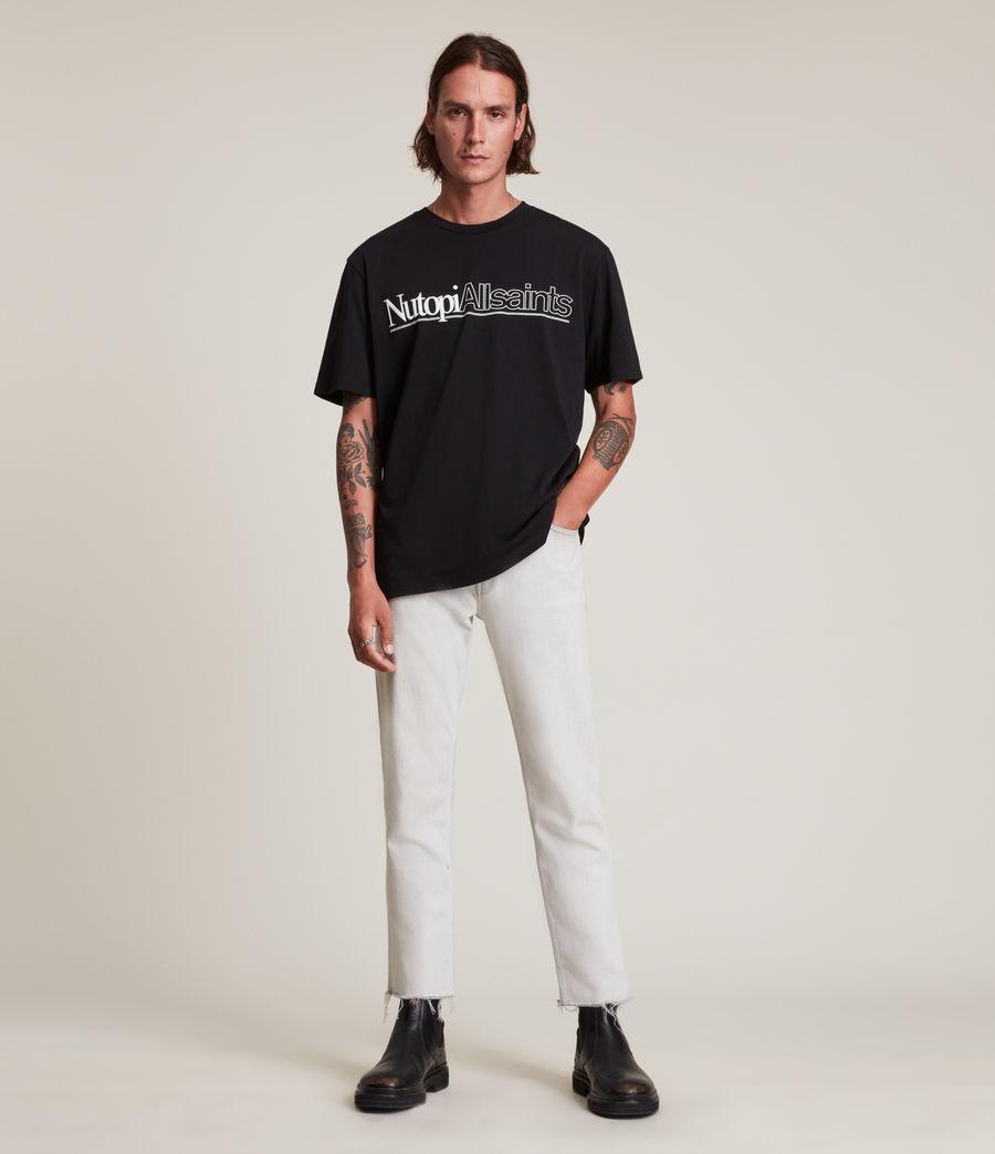 Men's Topia Crew T-Shirt (jet_black) - Image 3