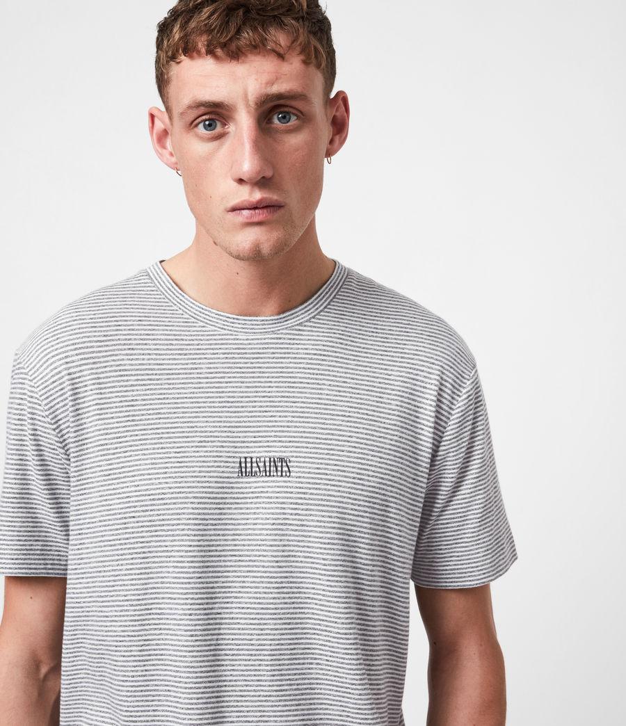 Herren Statestripe T-Shirt (jet_black) - Image 4