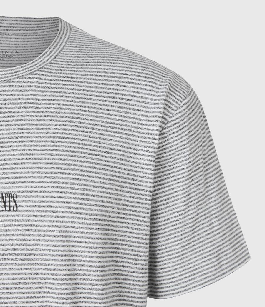 Herren Statestripe T-Shirt (jet_black) - Image 5