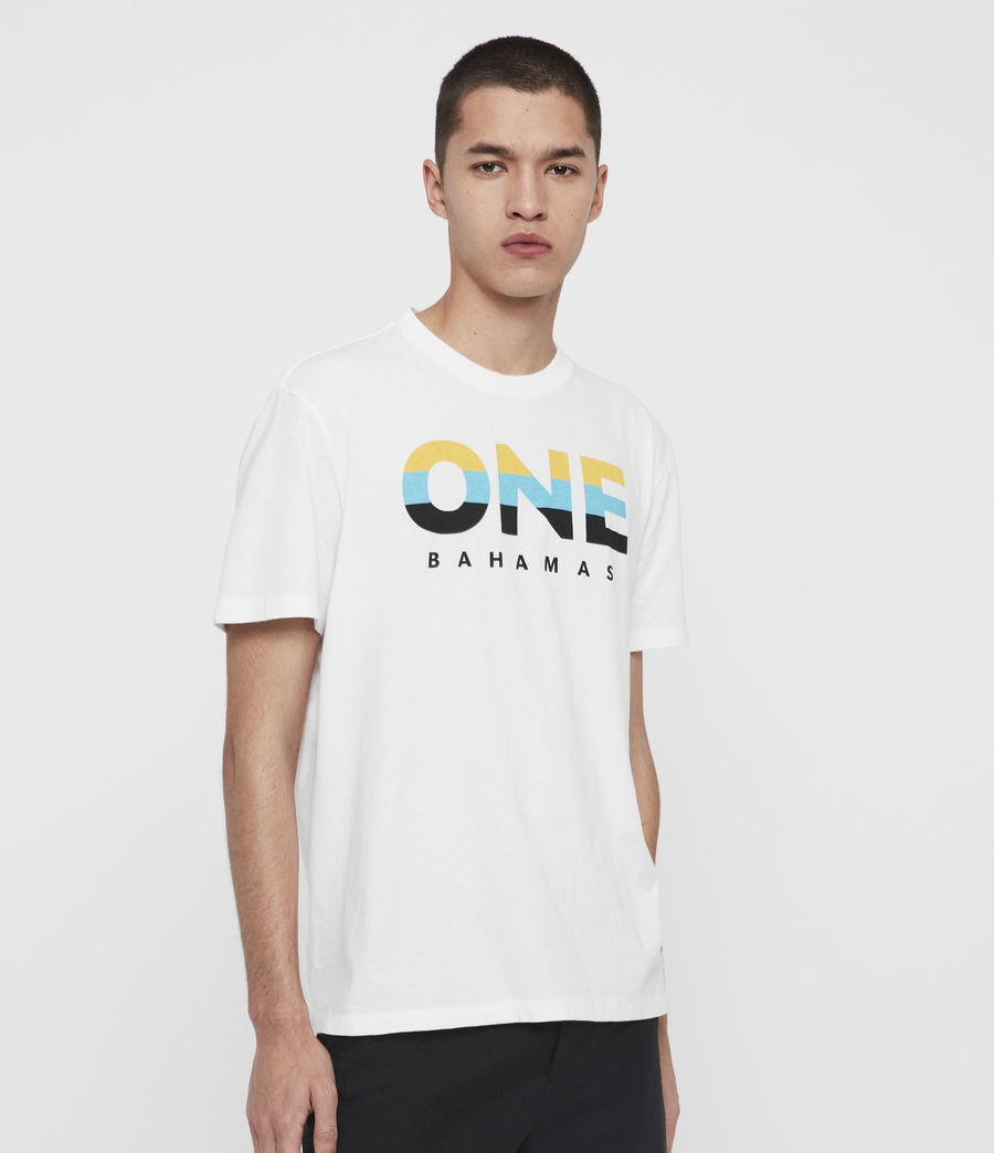 Men's Bahamas Crew T-Shirt (optic_white) - Image 3