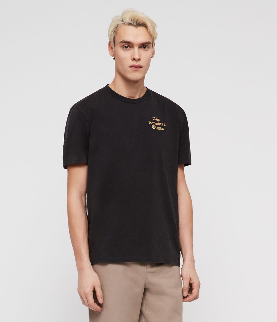 Men's Limbo T-Shirt (jet_black) - Image 1