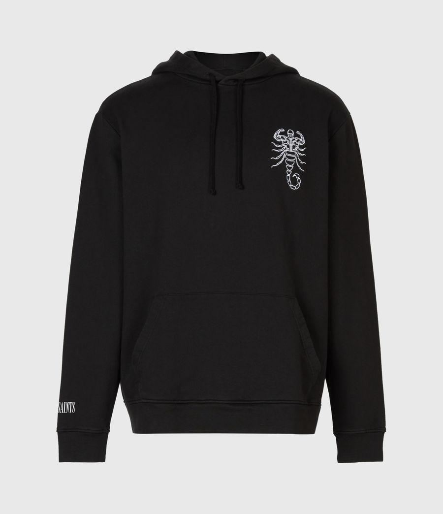 Hombre Skorpions Pullover Hoodie (jet_black) - Image 2