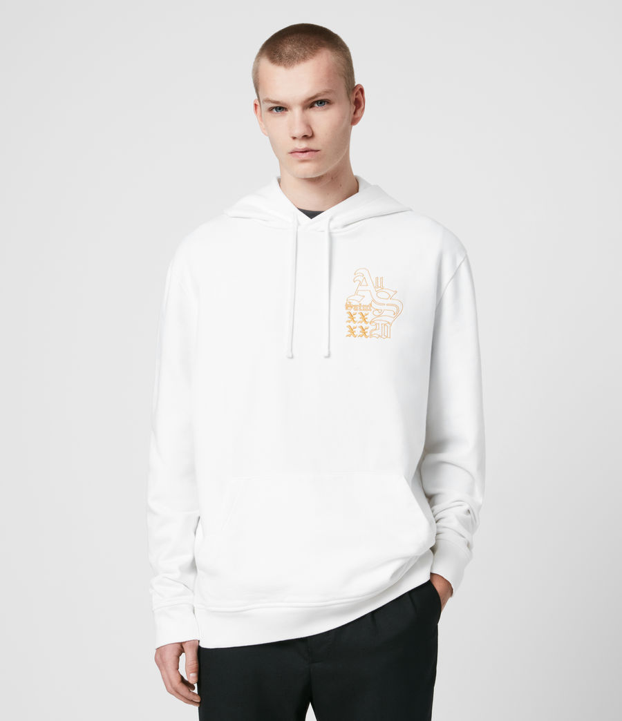 Men's Ex Mono Hoodie (optic_white) - Image 1