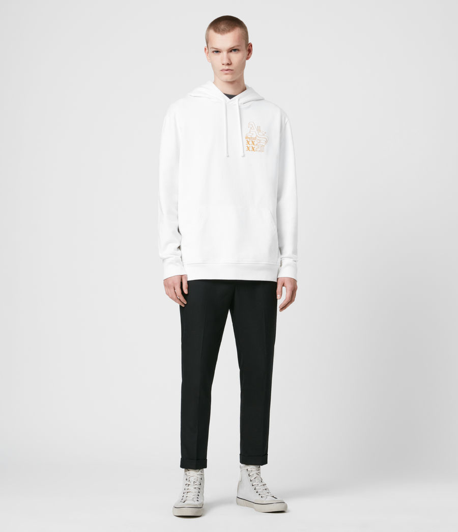 Men's Ex Mono Hoodie (optic_white) - Image 3