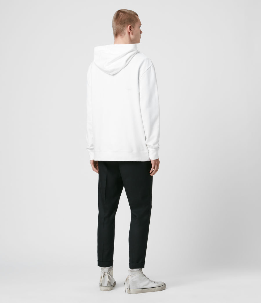Men's Ex Mono Hoodie (optic_white) - Image 5