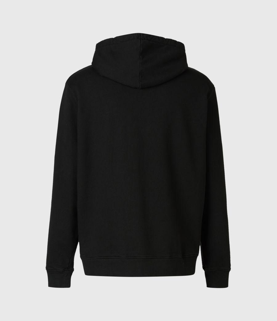 Mens Target Hoodie (jet_black) - Image 3