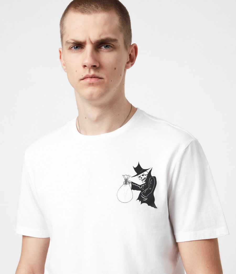 Men's Loot Crew T-Shirt (optic_white) - Image 4
