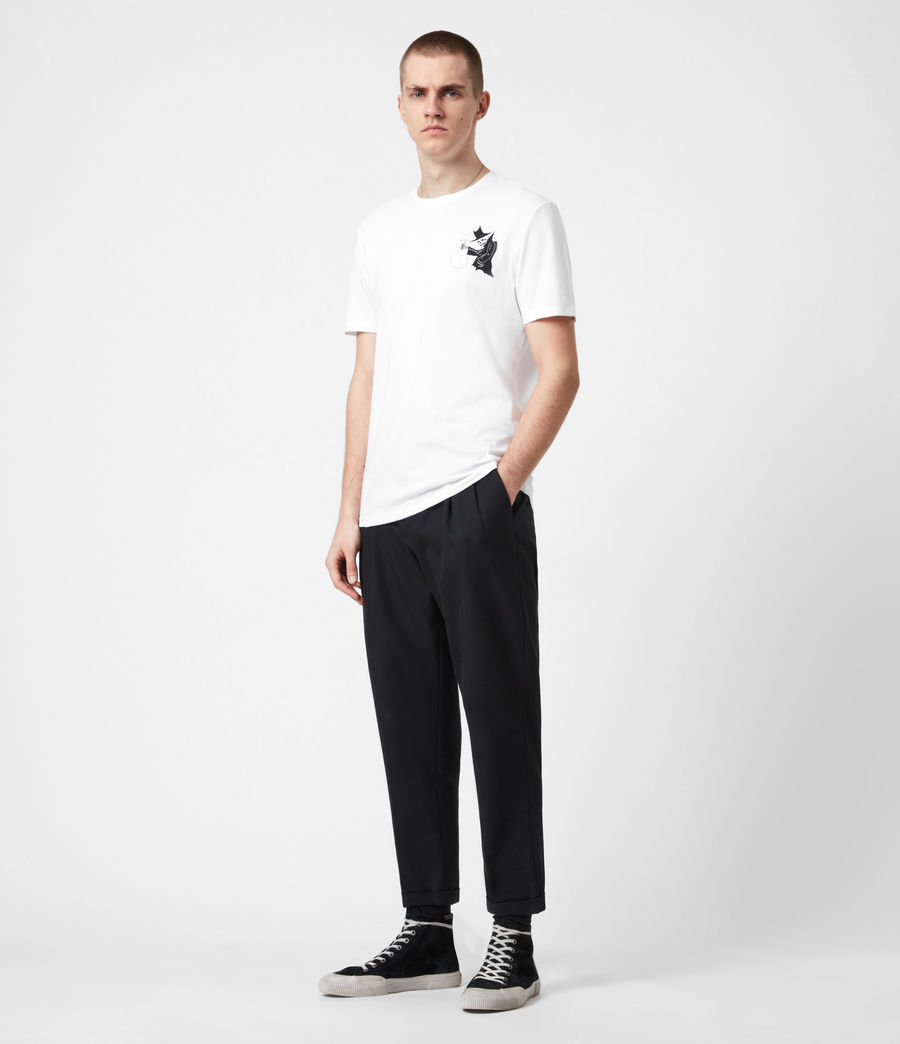 Men's Loot Crew T-Shirt (optic_white) - Image 6