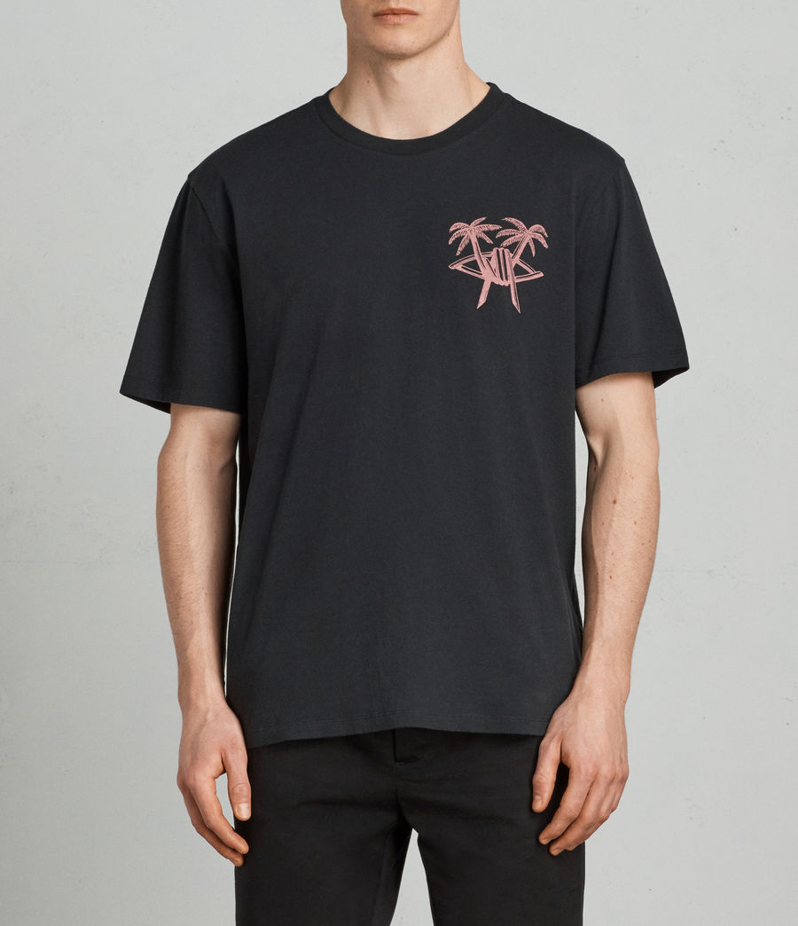 Men's Barbed Palm Crew (vintage_black) - Image 1