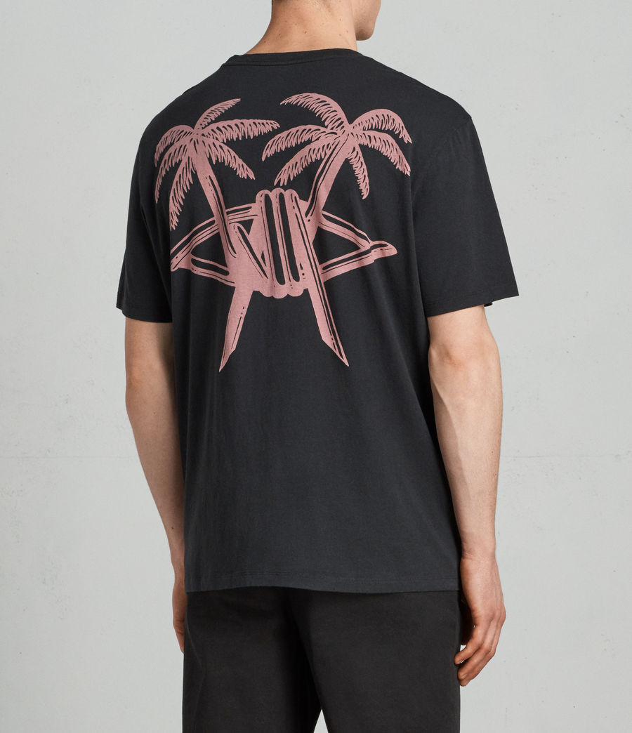 Men's Barbed Palm Crew (vintage_black) - Image 2