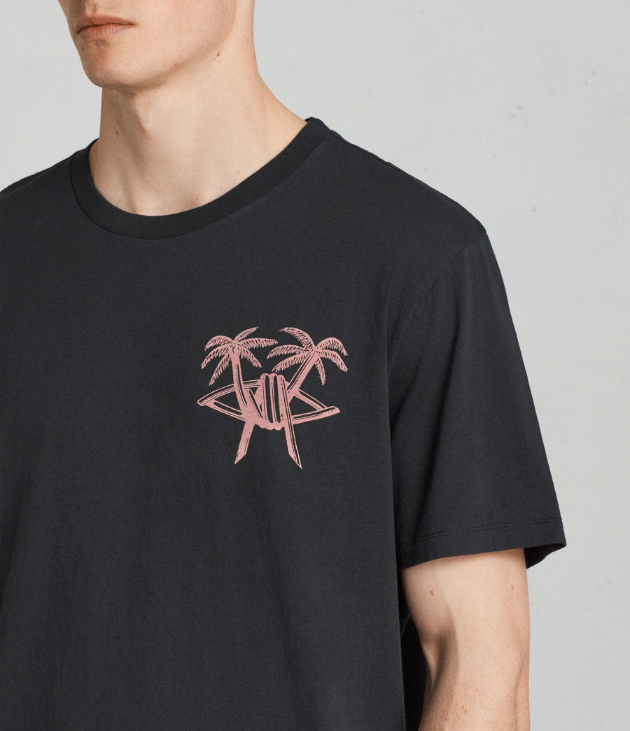 Men's Barbed Palm Crew (vintage_black) - Image 3