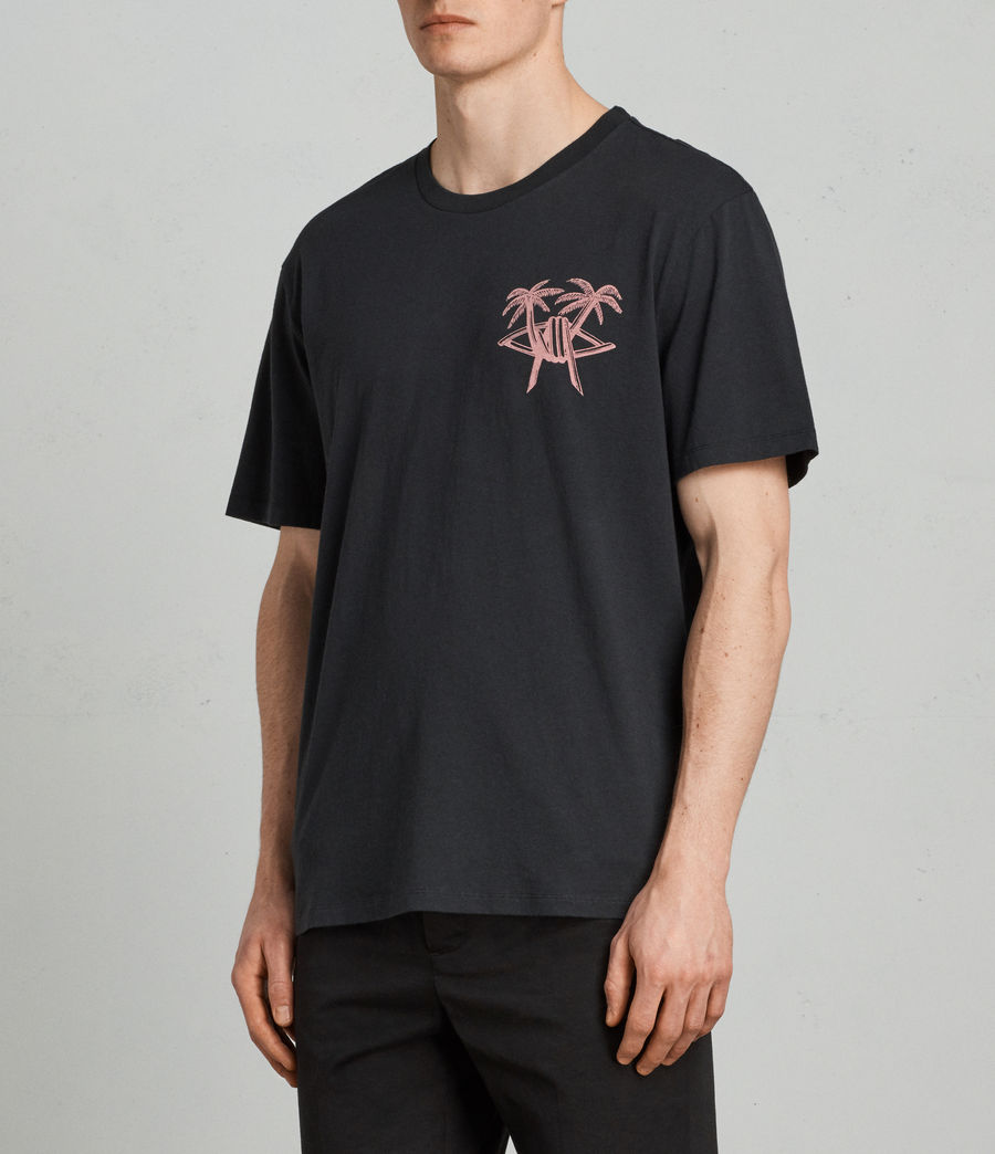Men's Barbed Palm Crew (vintage_black) - Image 4