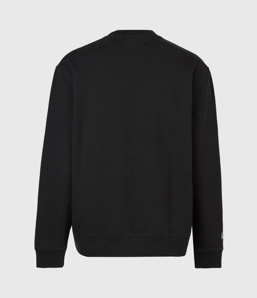 Herren Skorpions Crew Sweatshirt (jet_black) - Image 3