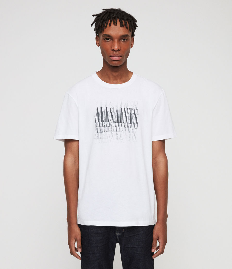 Men's Imprint Crew T-Shirt (chalk_white) - Image 1