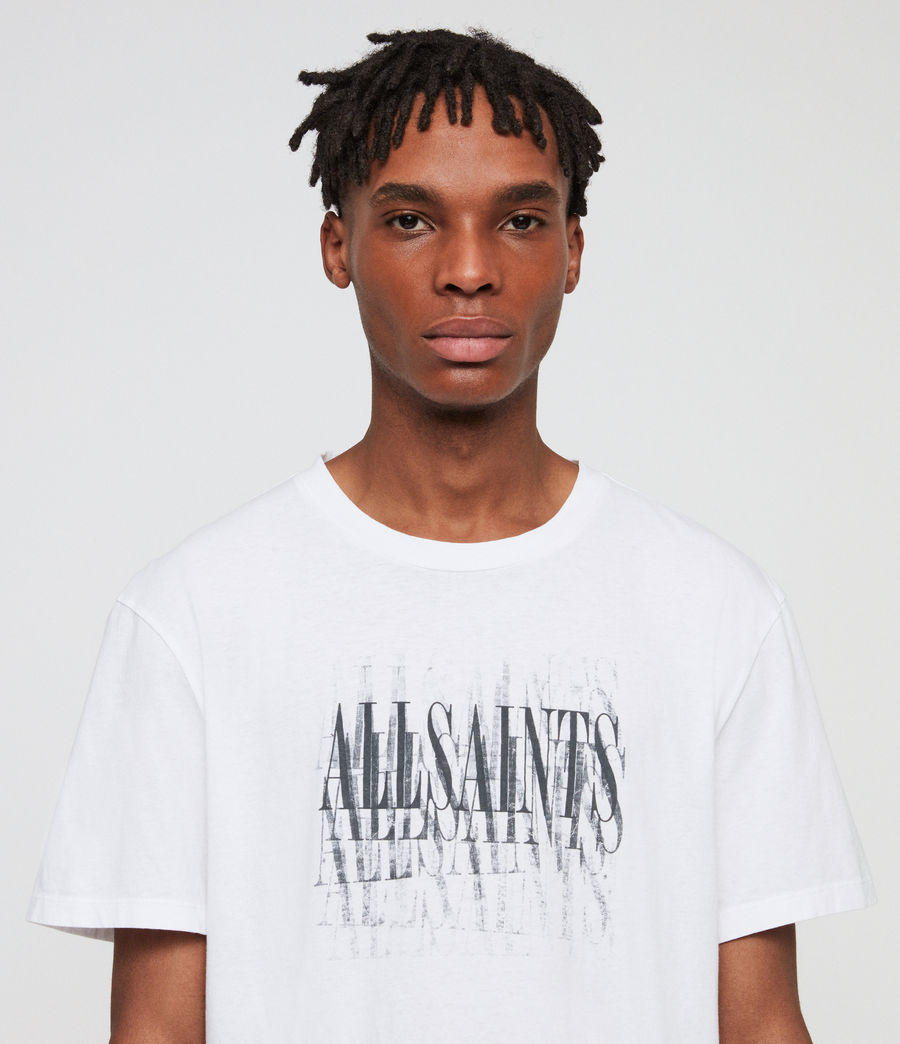 Men's Imprint Crew T-Shirt (chalk_white) - Image 2