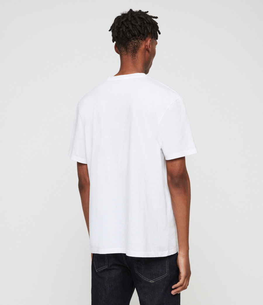 Men's Imprint Crew T-Shirt (chalk_white) - Image 4
