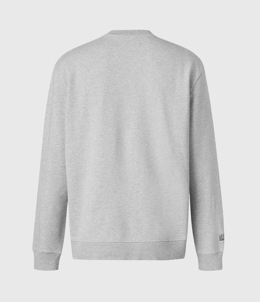 Men's Target Crew Sweatshirt (grey_marl) - Image 3