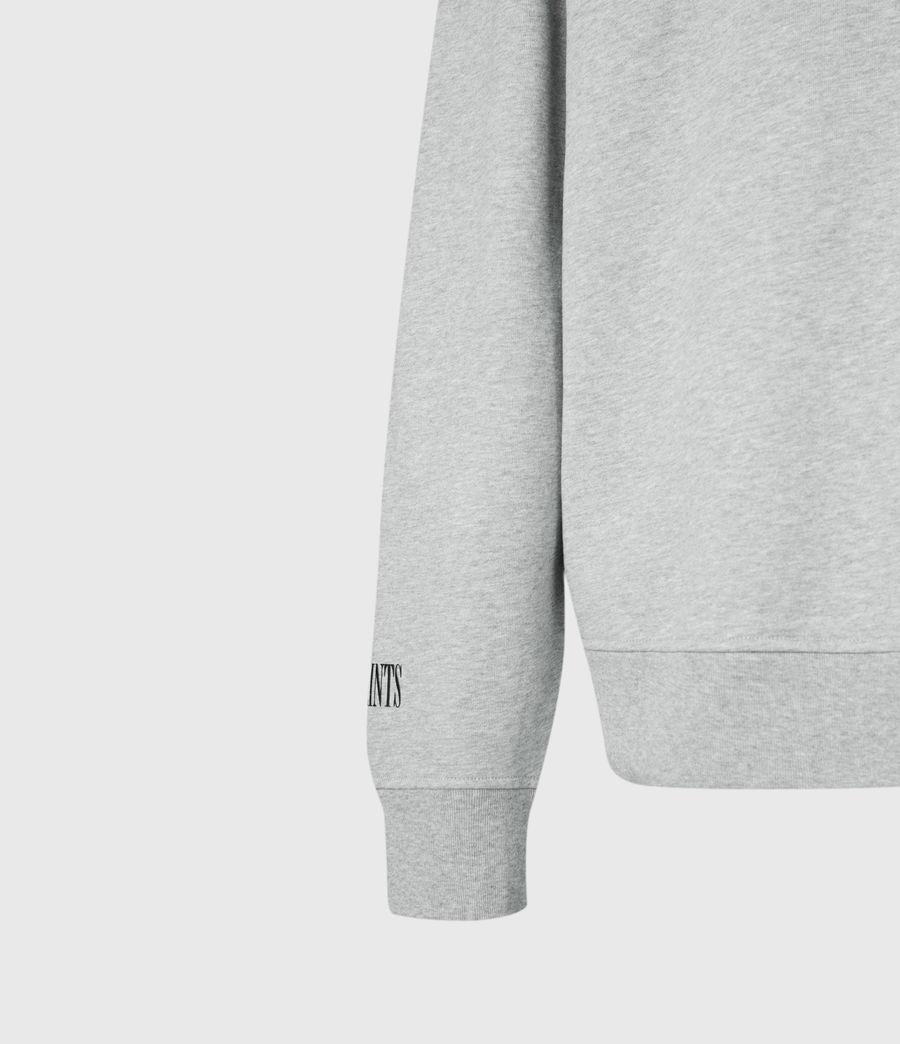 Men's Target Crew Sweatshirt (grey_marl) - Image 6