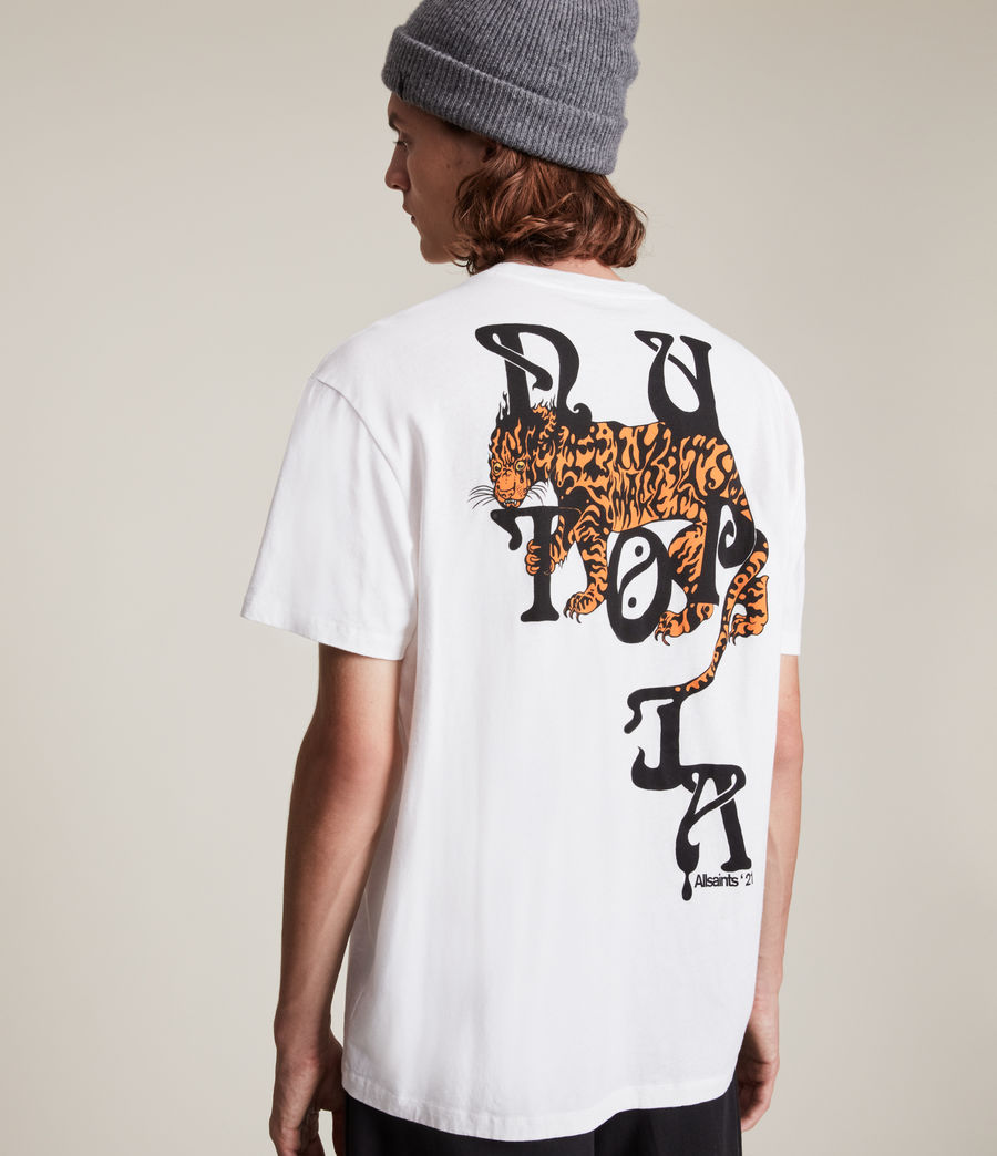 Men's Tripper Crew T-Shirt (optic_white) - Image 2