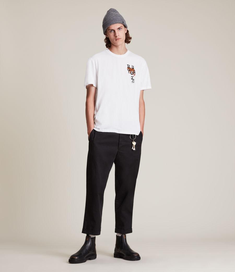 Men's Tripper Crew T-Shirt (optic_white) - Image 4
