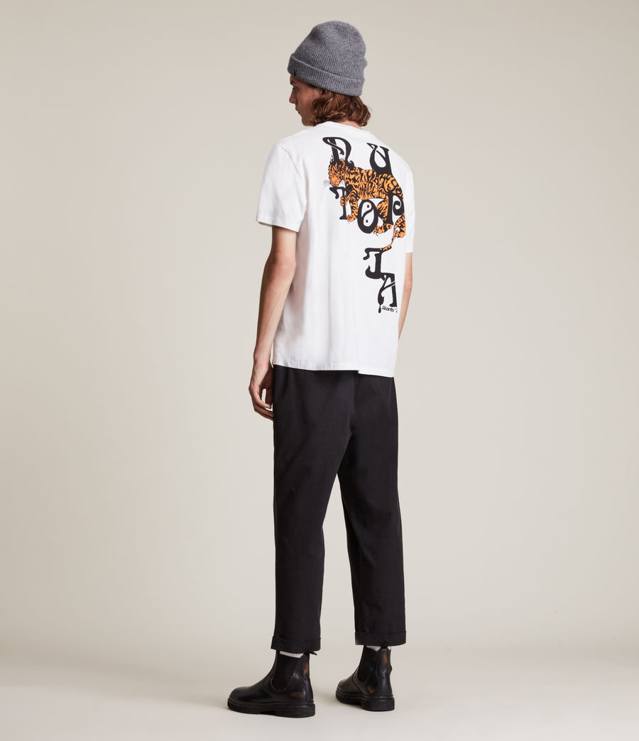 Men's Tripper Crew T-Shirt (optic_white) - Image 5