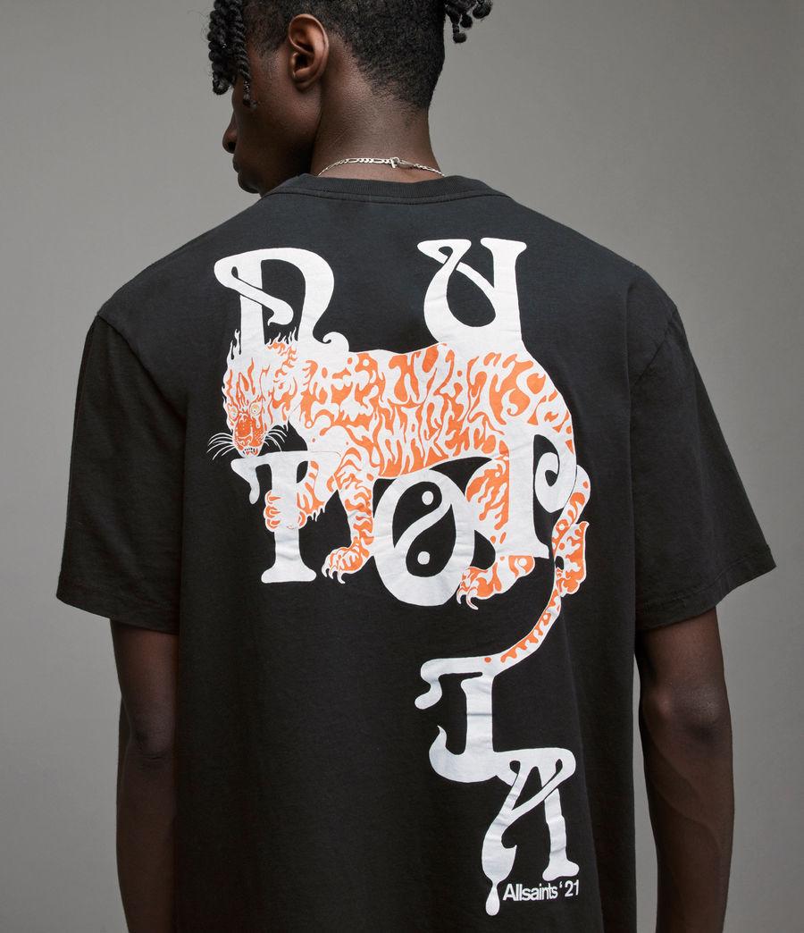 Men's Tripper Crew T-Shirt (jet_black) - Image 2