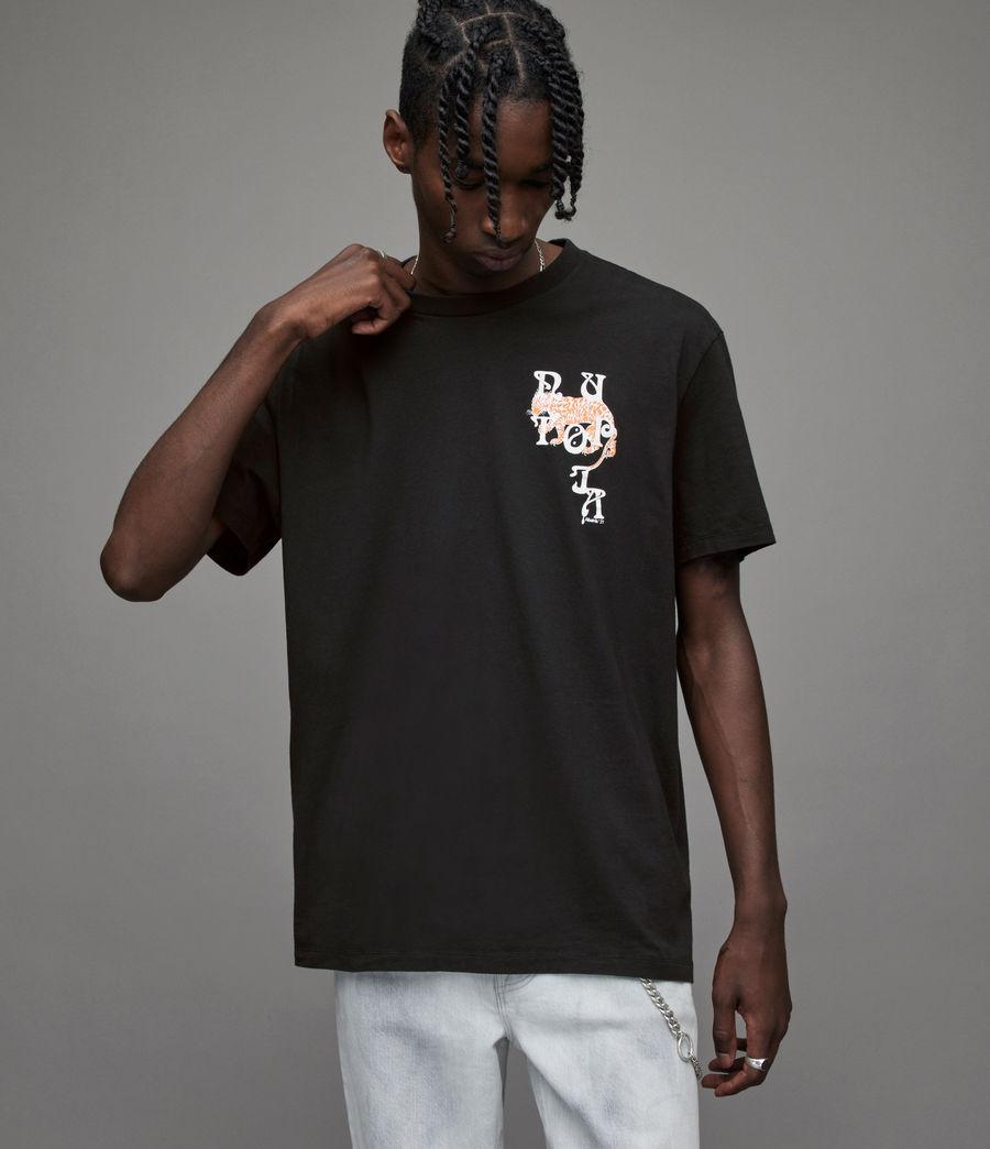 Men's Tripper Crew T-Shirt (jet_black) - Image 4