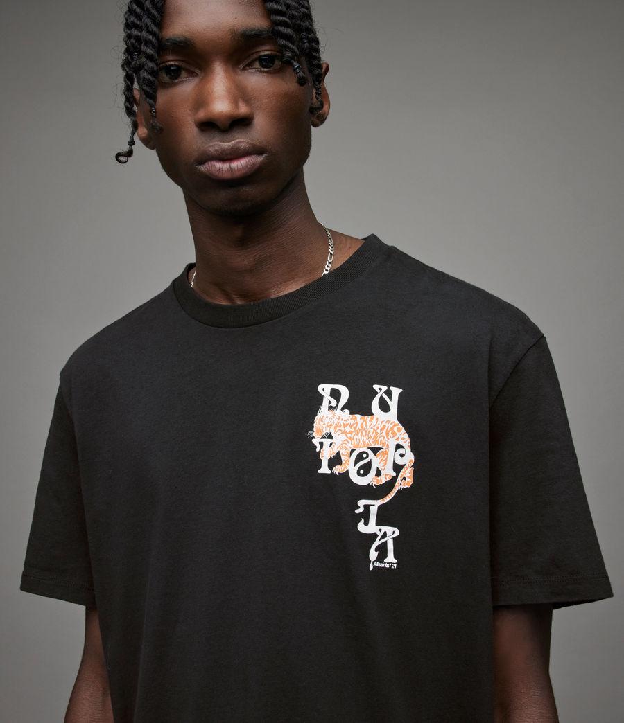 Men's Tripper Crew T-Shirt (jet_black) - Image 5