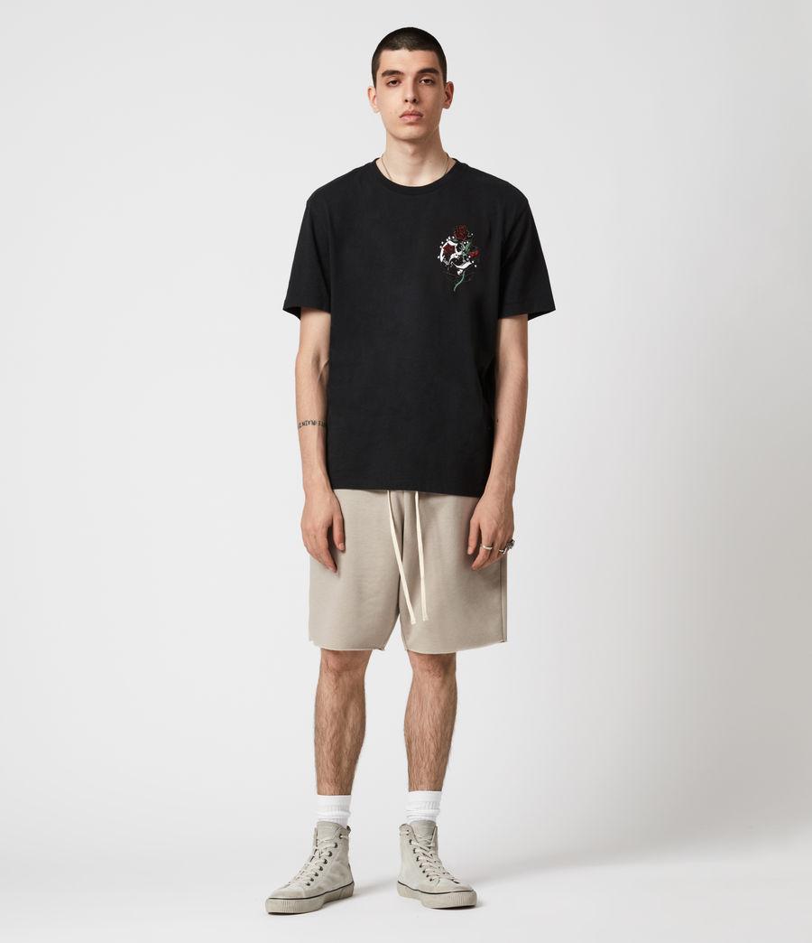 Men's Quickness Crew T-Shirt (jet_black) - Image 4