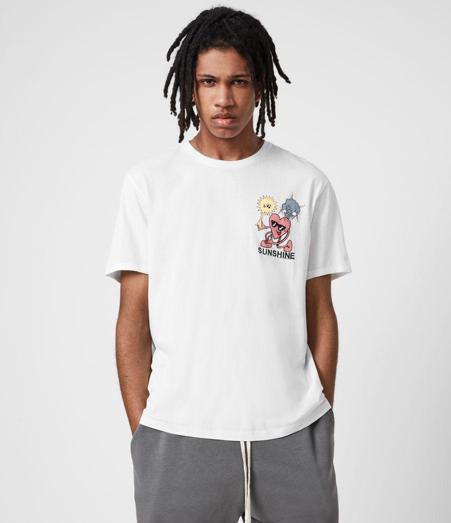 Men's Sunshine Crew T-Shirt (optic_white) - Image 1