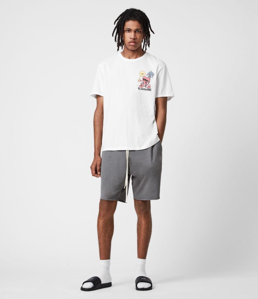 Men's Sunshine Crew T-Shirt (optic_white) - Image 6