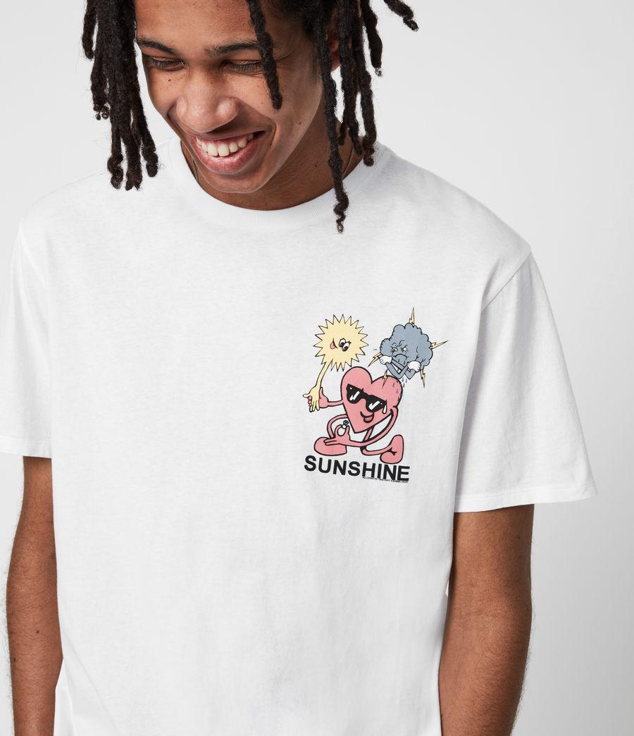 Men's Sunshine Crew T-Shirt (optic_white) - Image 7