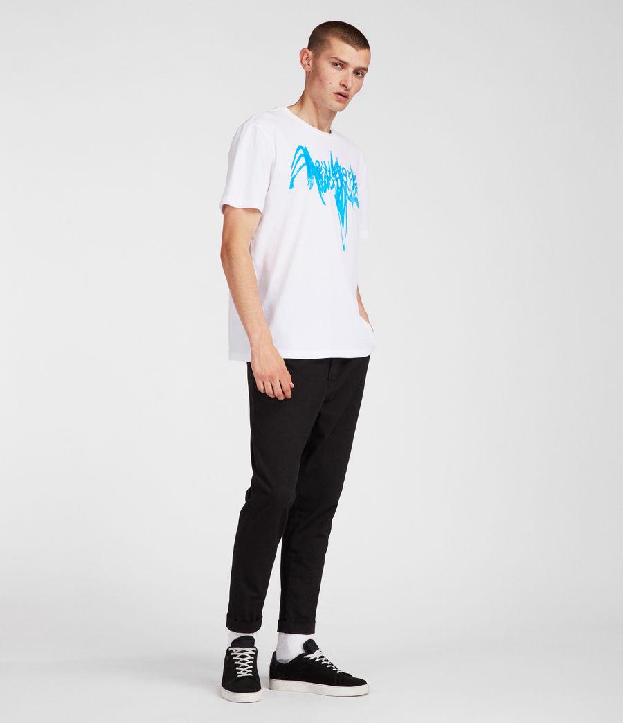 Uomo T-shirt Ny (white) - Image 2
