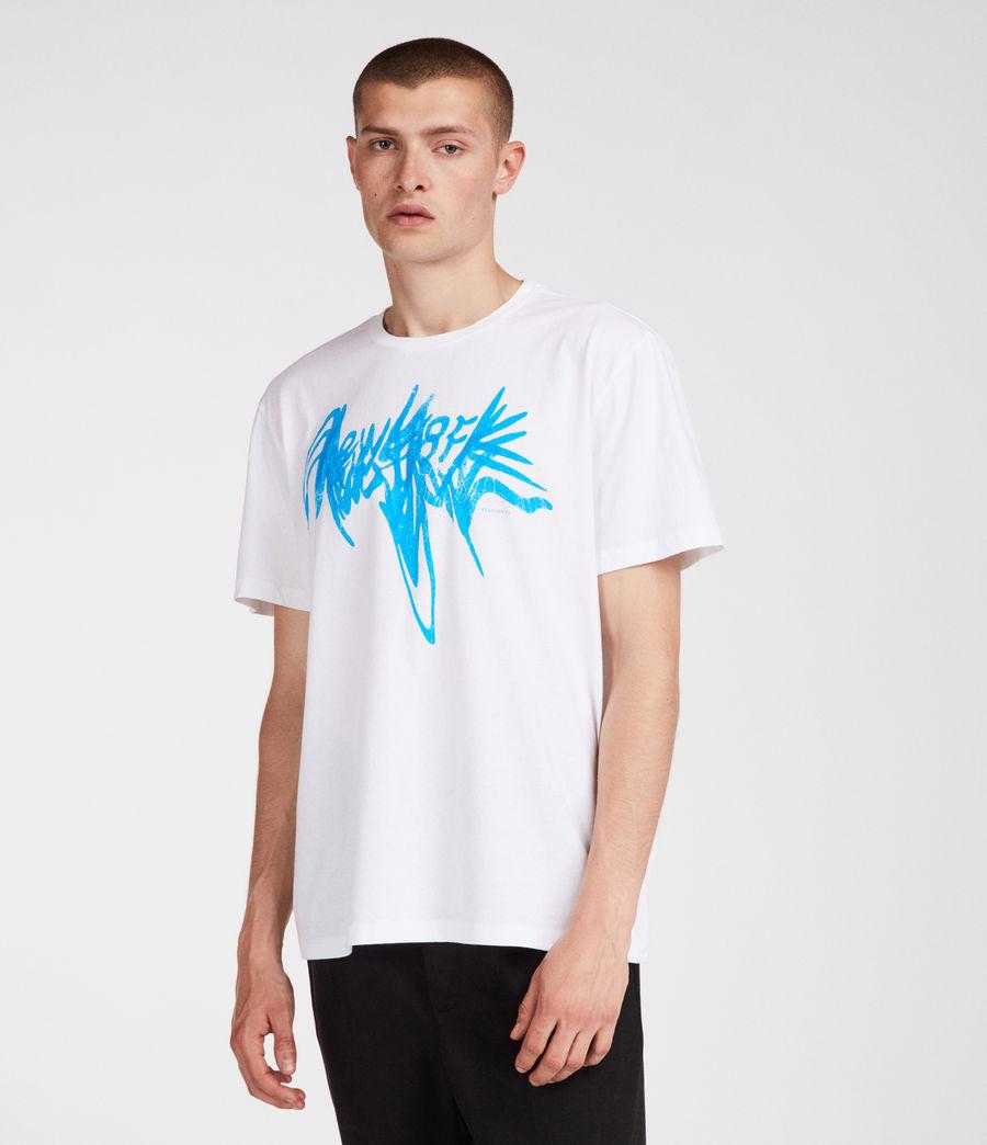 Hombre Camiseta NY (white) - Image 3