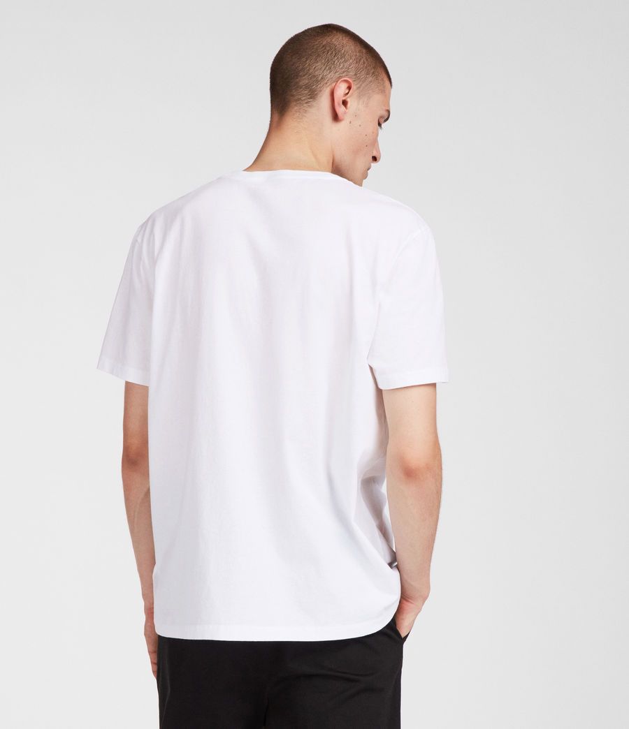 Uomo T-shirt Ny (white) - Image 4