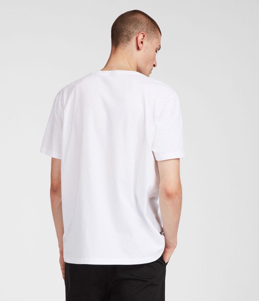 Mens NY Crew T-Shirt (white) - Image 4
