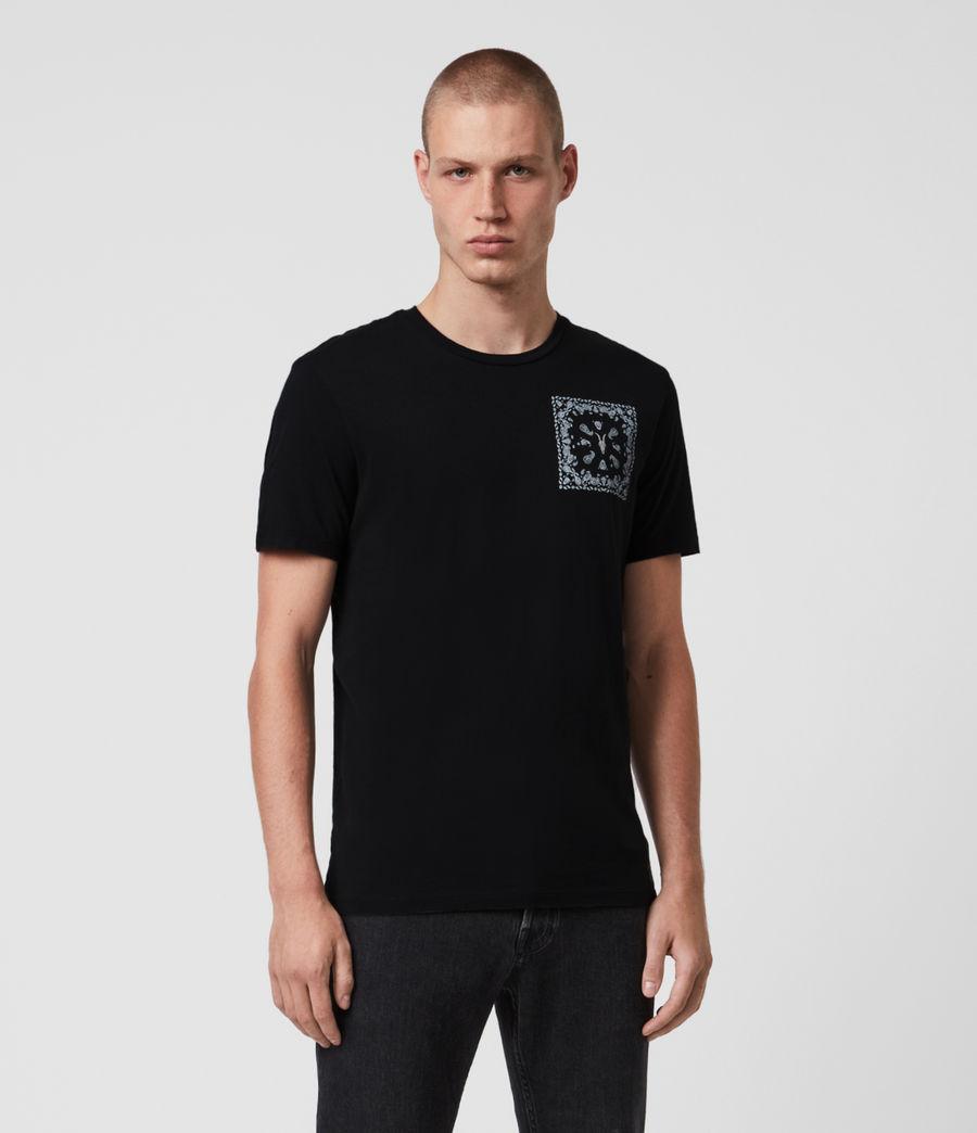 Mens Badmanna Crew T-Shirt (jet_black) - Image 1