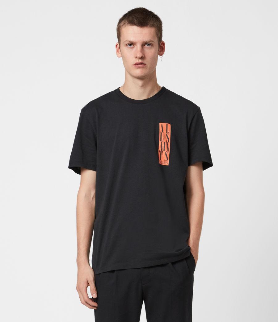 Men's Vertice Crew T-Shirt (vintage_black) - Image 1