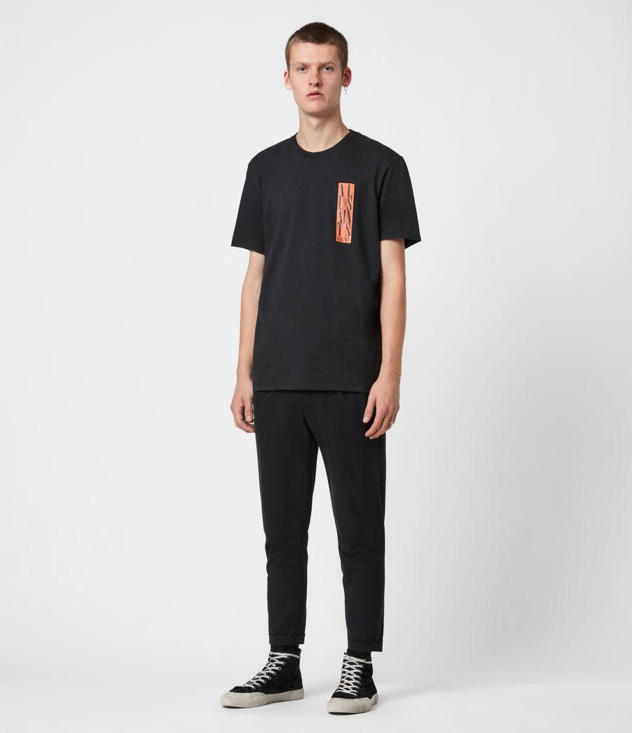 Men's Vertice Crew T-Shirt (vintage_black) - Image 6