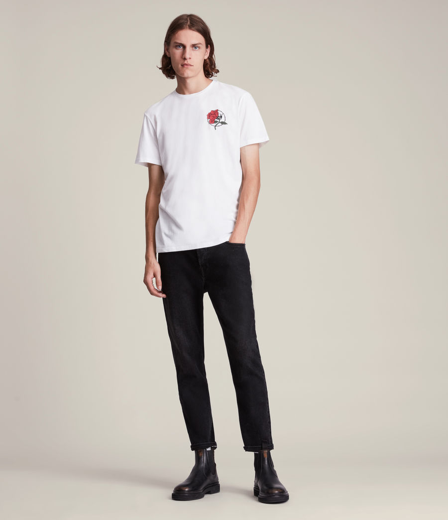 Men's Nurose Brace Crew T-Shirt (optic_white) - Image 3