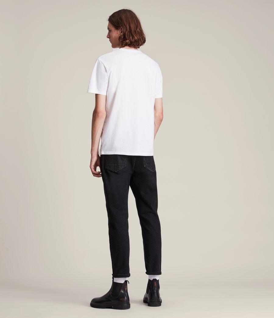 Men's Nurose Brace Crew T-Shirt (optic_white) - Image 4