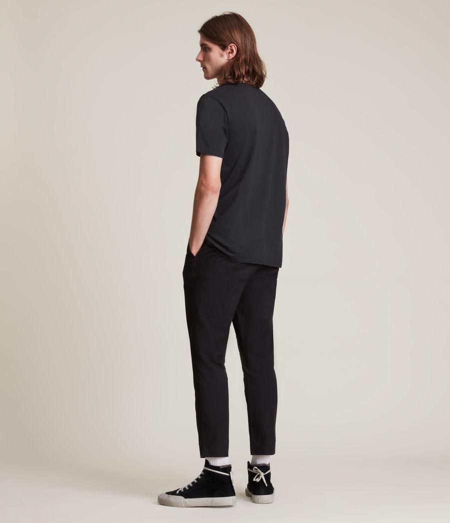 Men's Nurose Brace Crew T-Shirt (jet_black) - Image 6